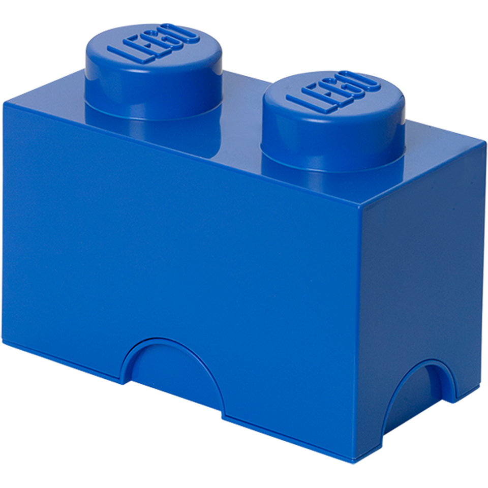 LEGO Storage Brick 2- Blue