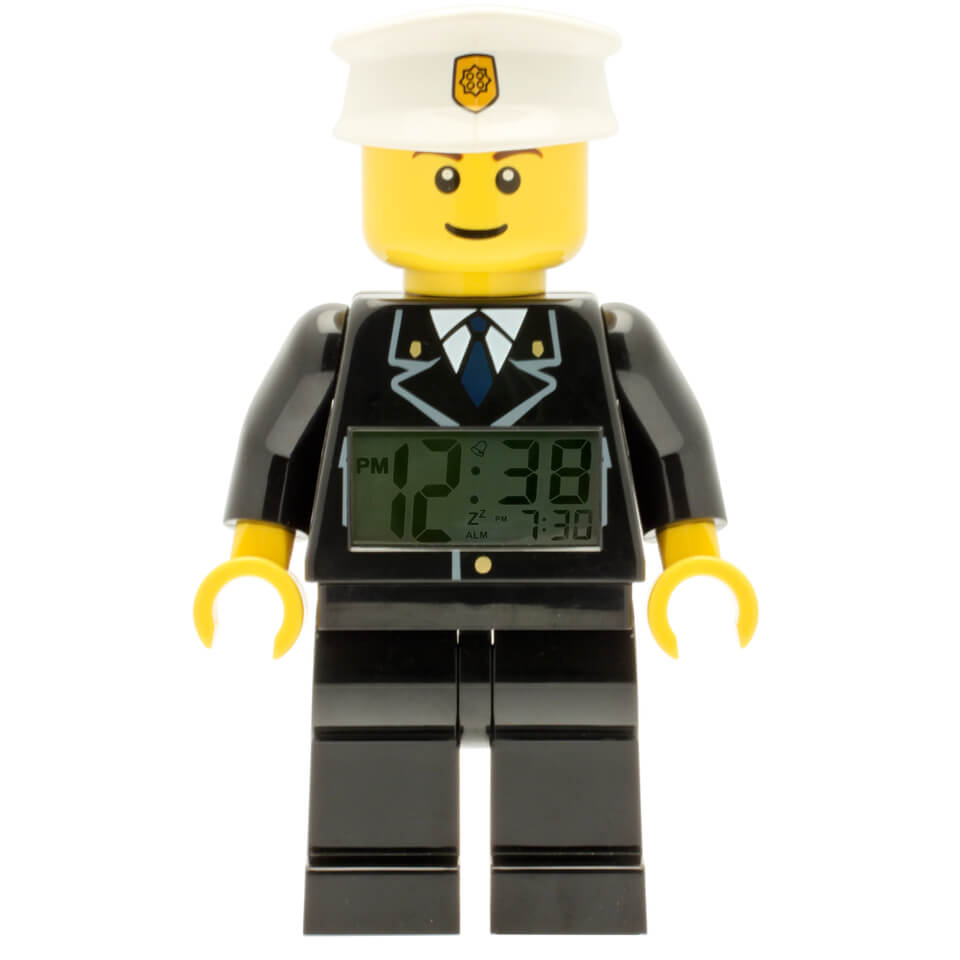 LEGO City: Policeman Mini-Figure Clock