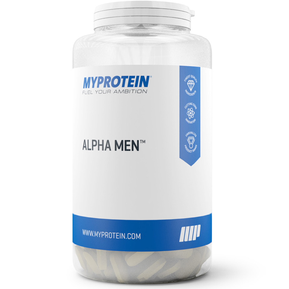 Alpha Men - Unflavoured - 120 tablets