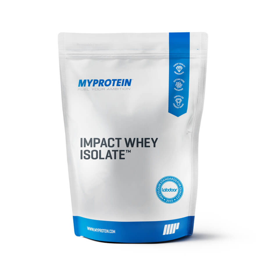 Impact Whey Isolate - Unflavoured 1KG