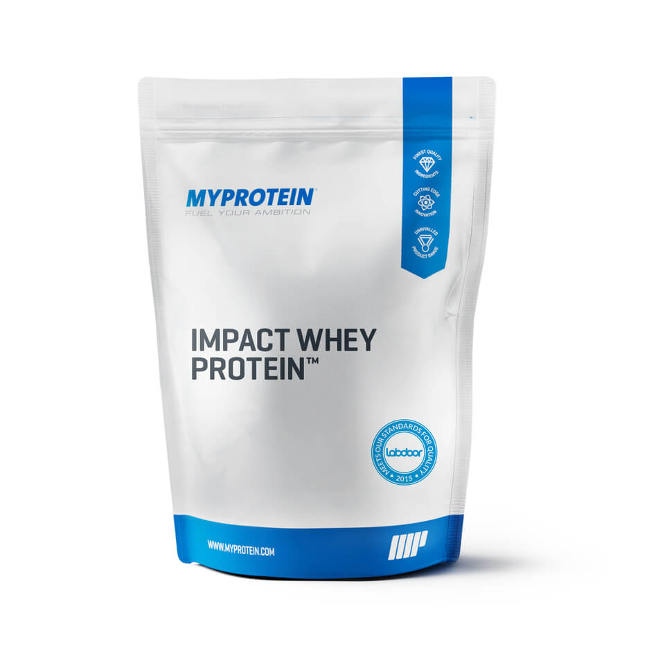 Impact Whey Protein - Strawberry Jam Roly Poly 1KG