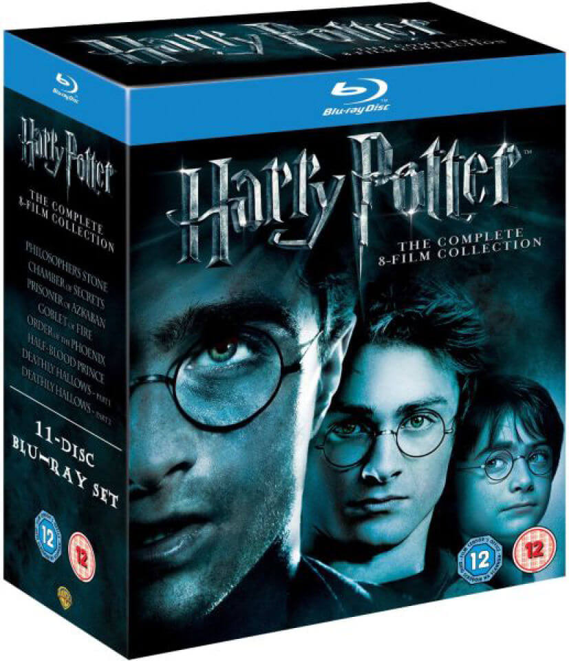 Harry Potter - The Complete Collection (1-7 2)