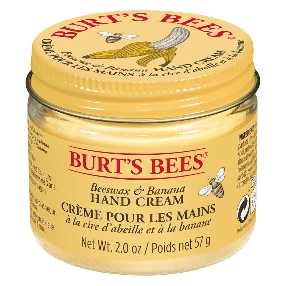 Burt S Bees Beeswax And Banana Hand Cream 57g Free