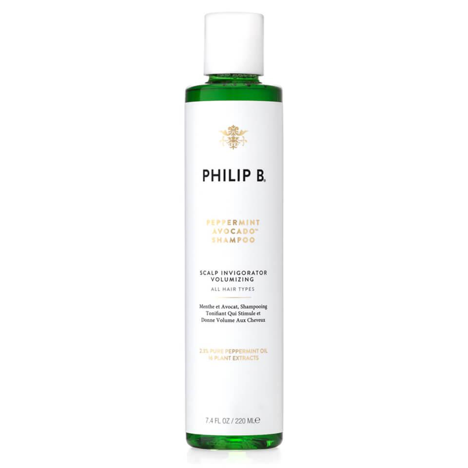Philip B Peppermint And Avocado Volumising And Clarifying Shampoo