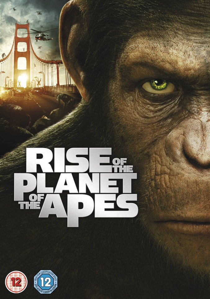 Rise Of The Planet Of The Apes Dvd Zavvi
