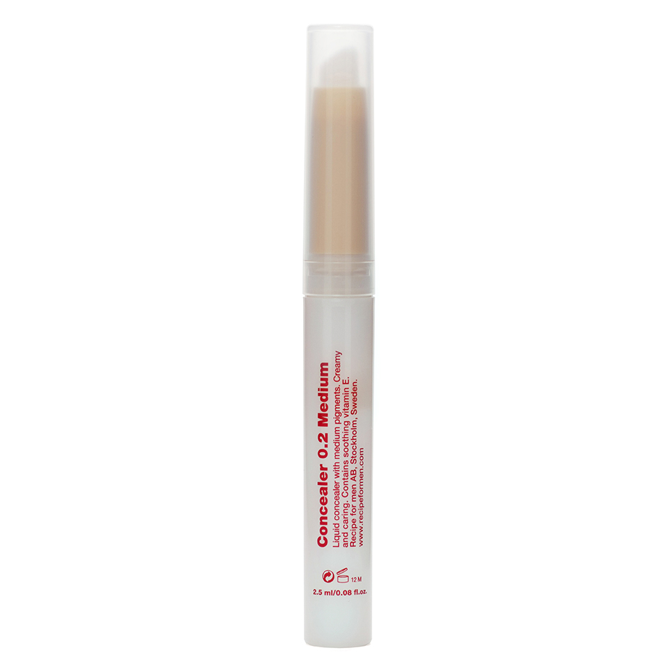 Recipe for Men - Concealer 0.2 Medium 2.5ml