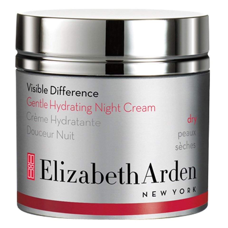 elizabeth arden visible difference gentle hydrating night cream 50ml free shipping. Black Bedroom Furniture Sets. Home Design Ideas