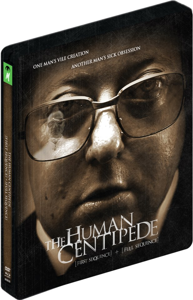 The Human Centipede 1 and 2 - Limited Steelbook Edition (Blu-Ray and DVD)