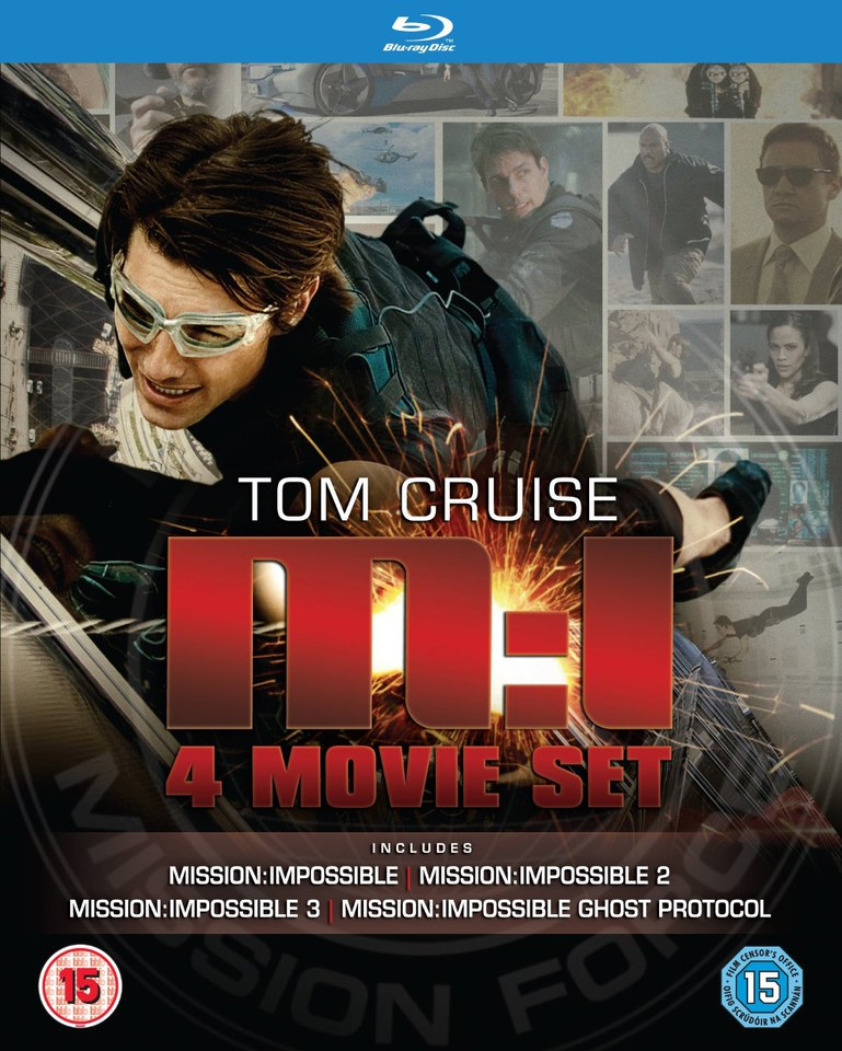 Coffret Mission Impossible 1-4
