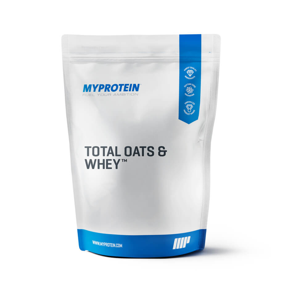 Total Oats and Whey - Unflavoured, 5.5lbs