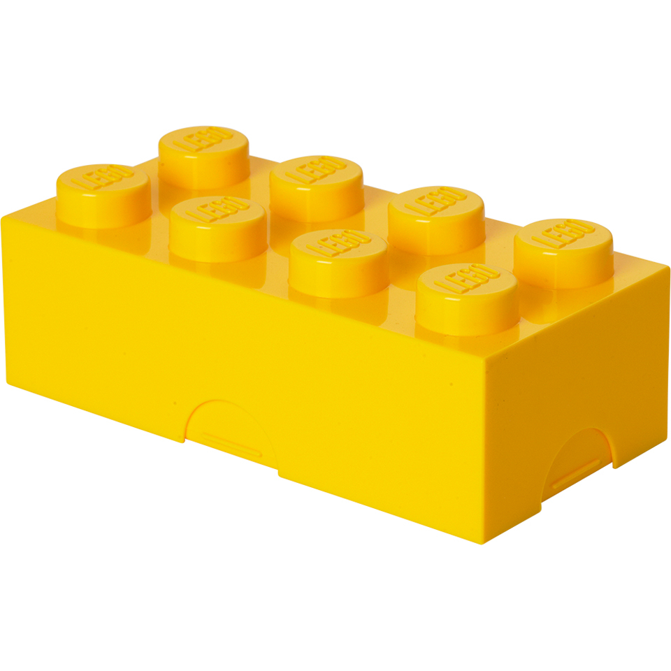 LEGO Lunch Box - Yellow