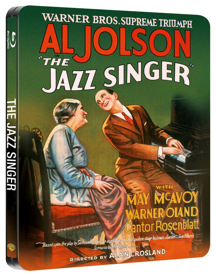 The Jazz Singer Steelbook Edition Blu Ray Zavvi