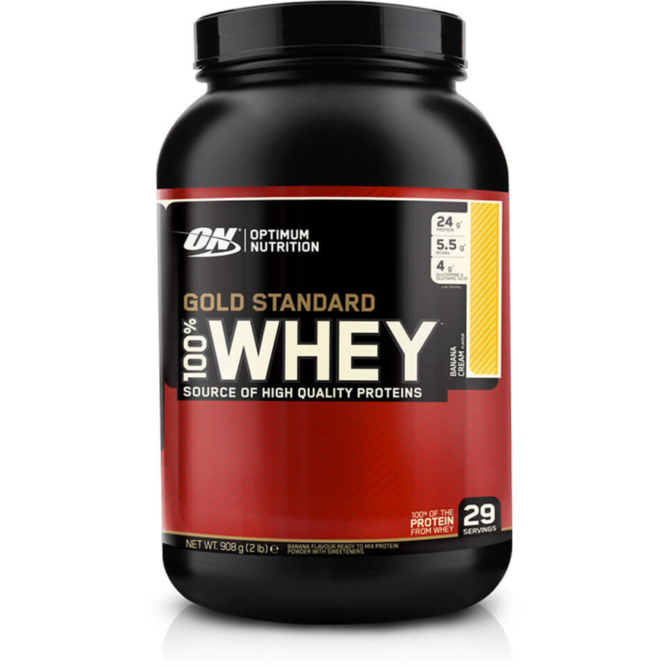 Optimum Nutrition Gold Standard 100% Whey - Double Chocolate, Bag, 908g