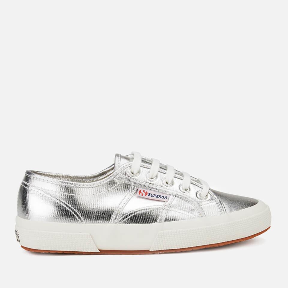 f4556b30a243 Superga Women s 2750 Cotmetu Trainers - Silver Clothing