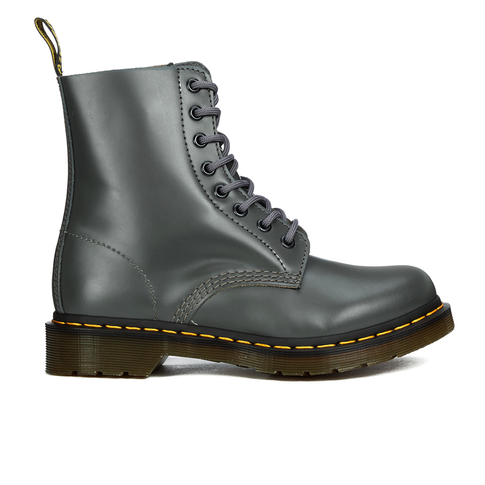 Dr. Martens Women's Pascal Lace Up Boots Grey Buttero