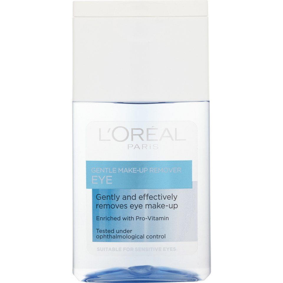 L'Oréal Paris Gentle Eye Make-Up Remover 125ml | Free Shipping | Lookfantastic