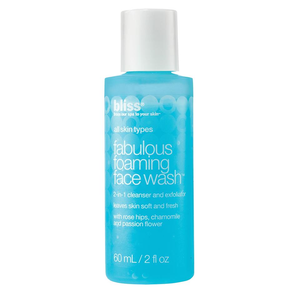 bliss fabulous face wash
