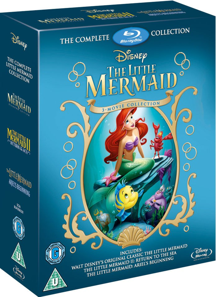 The Little Mermaid 1-3