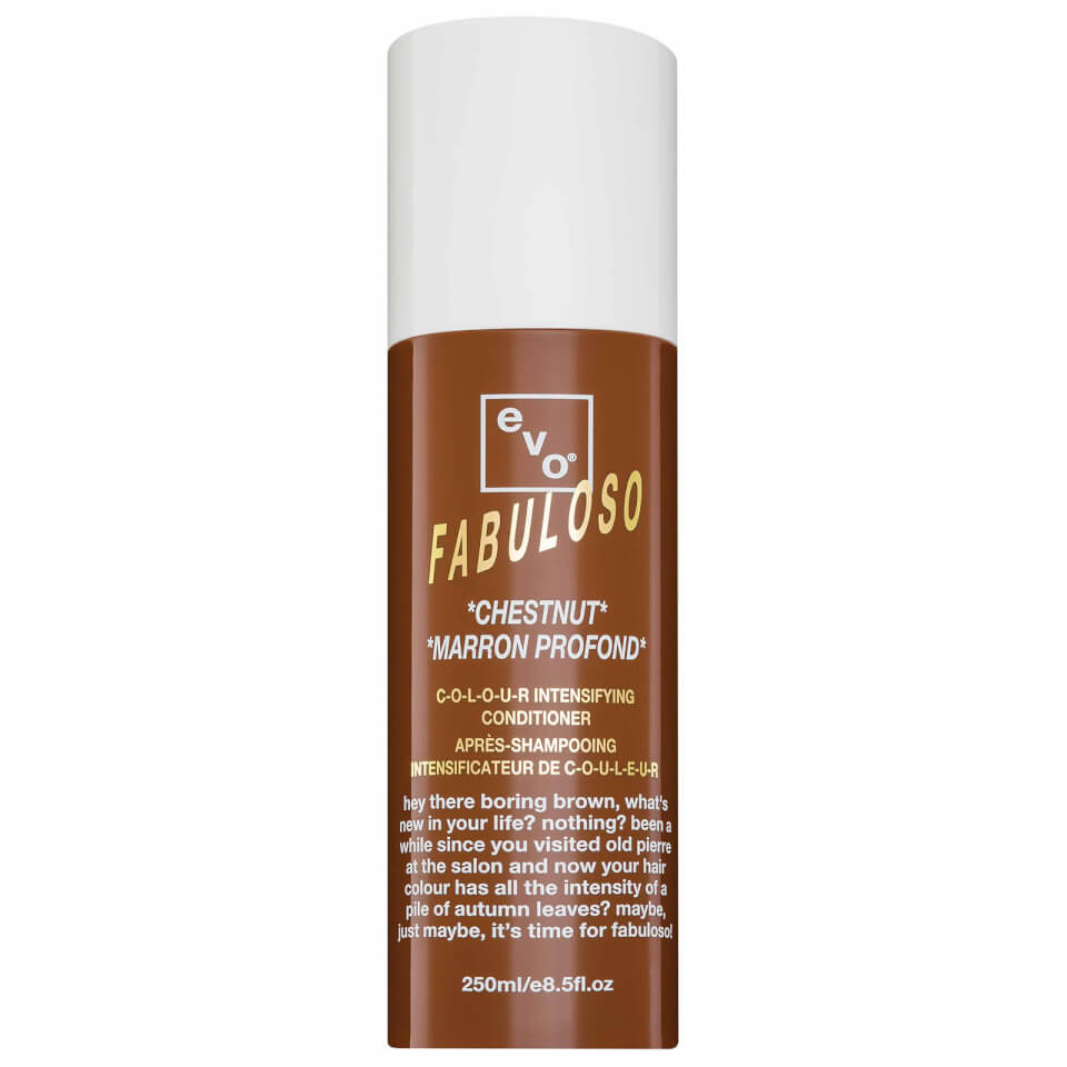 Evo Fabuloso Colour Intensifying Conditioner Chestnut 250Ml Reviews  Free Shipping -6483