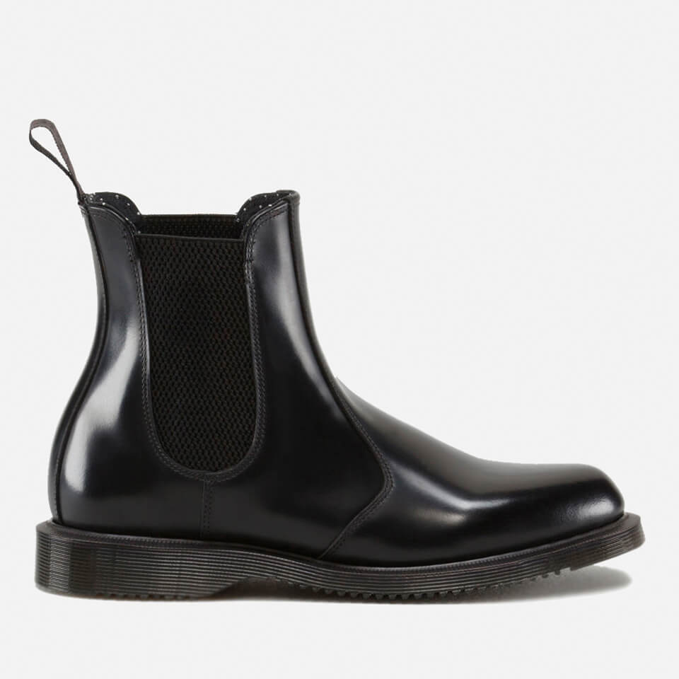 40439b92fea1 ... Dr. Martens Women s Flora Polished Smooth Leather Chelsea Boots - Black