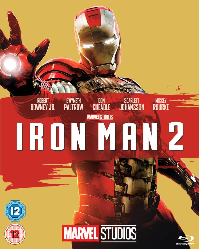Iron Man 2 Blu Ray Zavvi