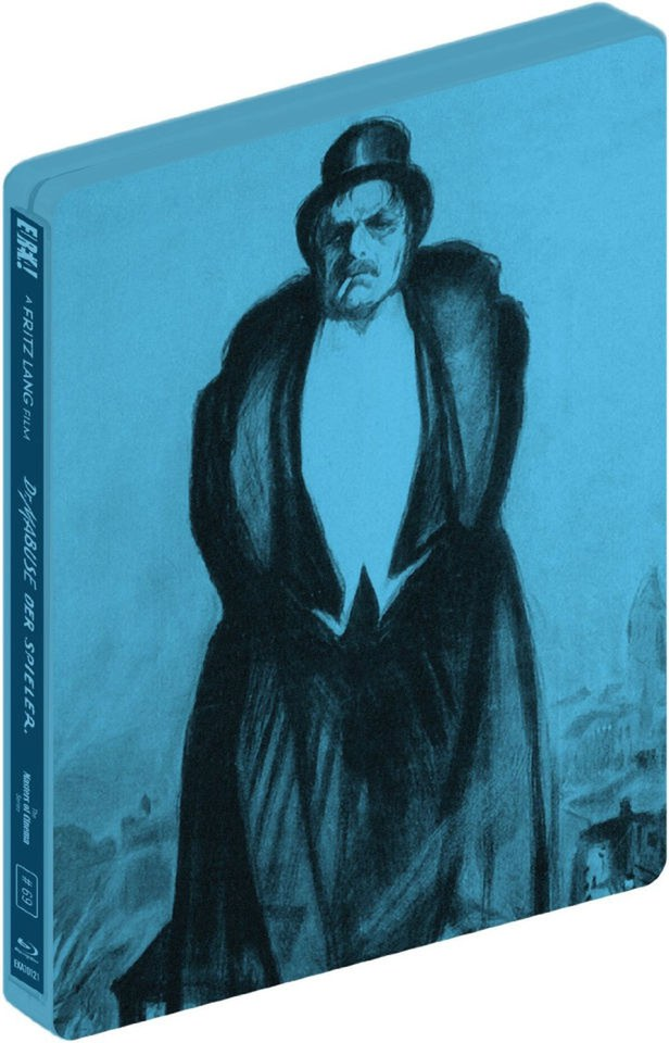 Dr. Mabuse Der Spieler (Masters of Cinema) - Steelbook Edition