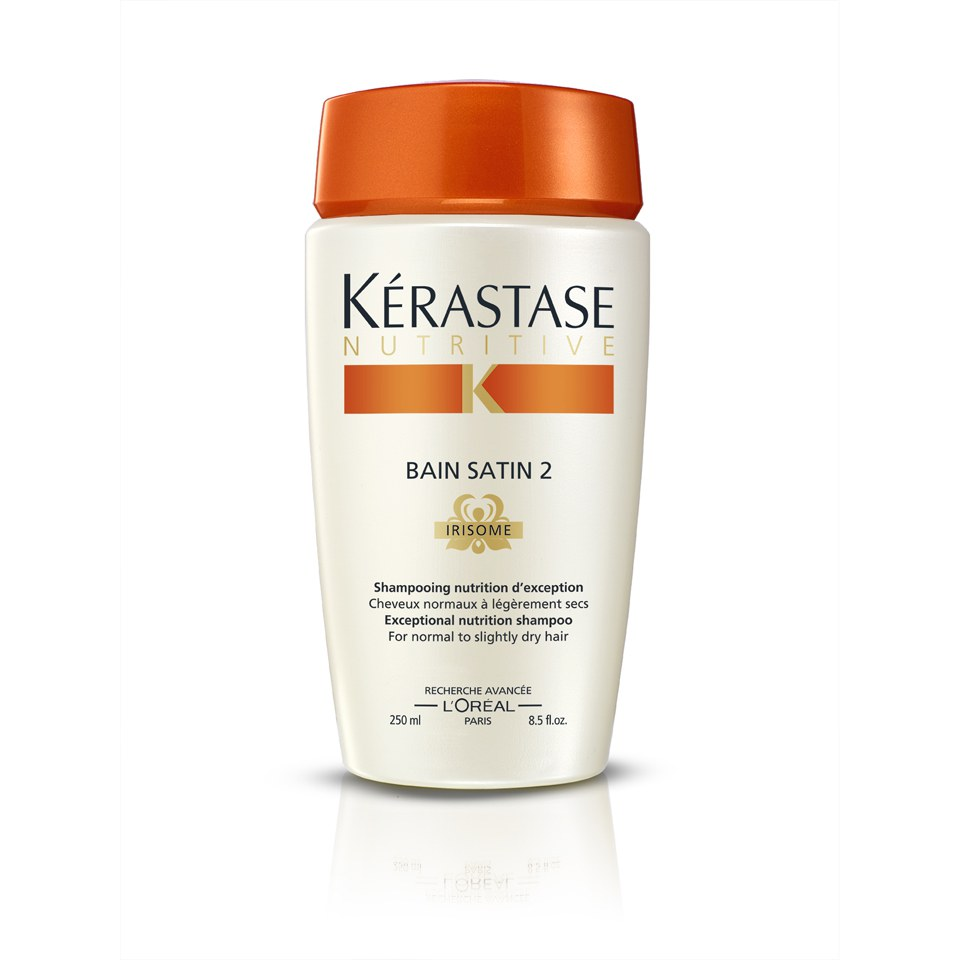 K rastase nutritive irisome bain satin 2 250ml free for Bain miroir 1 kerastase
