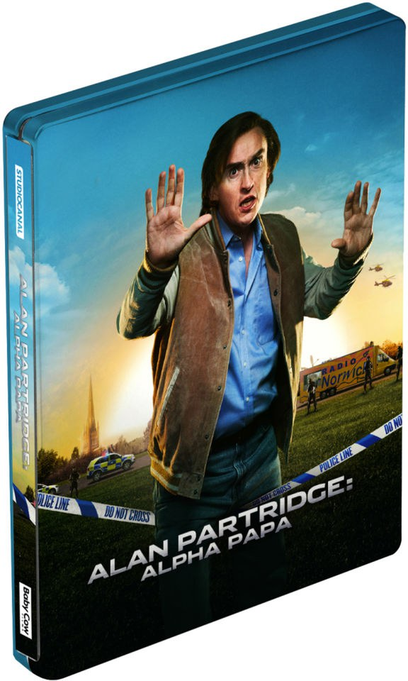 Alan Partridge: Alpha Papa - Steelbook Edition - Double Play (Blu-Ray and DVD) (UK EDITION)