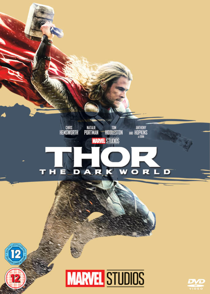 Thor 2 The Dark World Dvd Zavvi