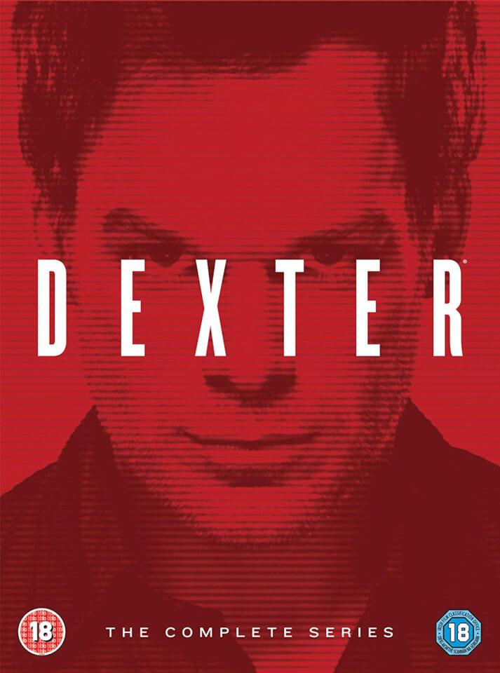 Dexter Complete Seasons 1 8 Dvd Thehut Com
