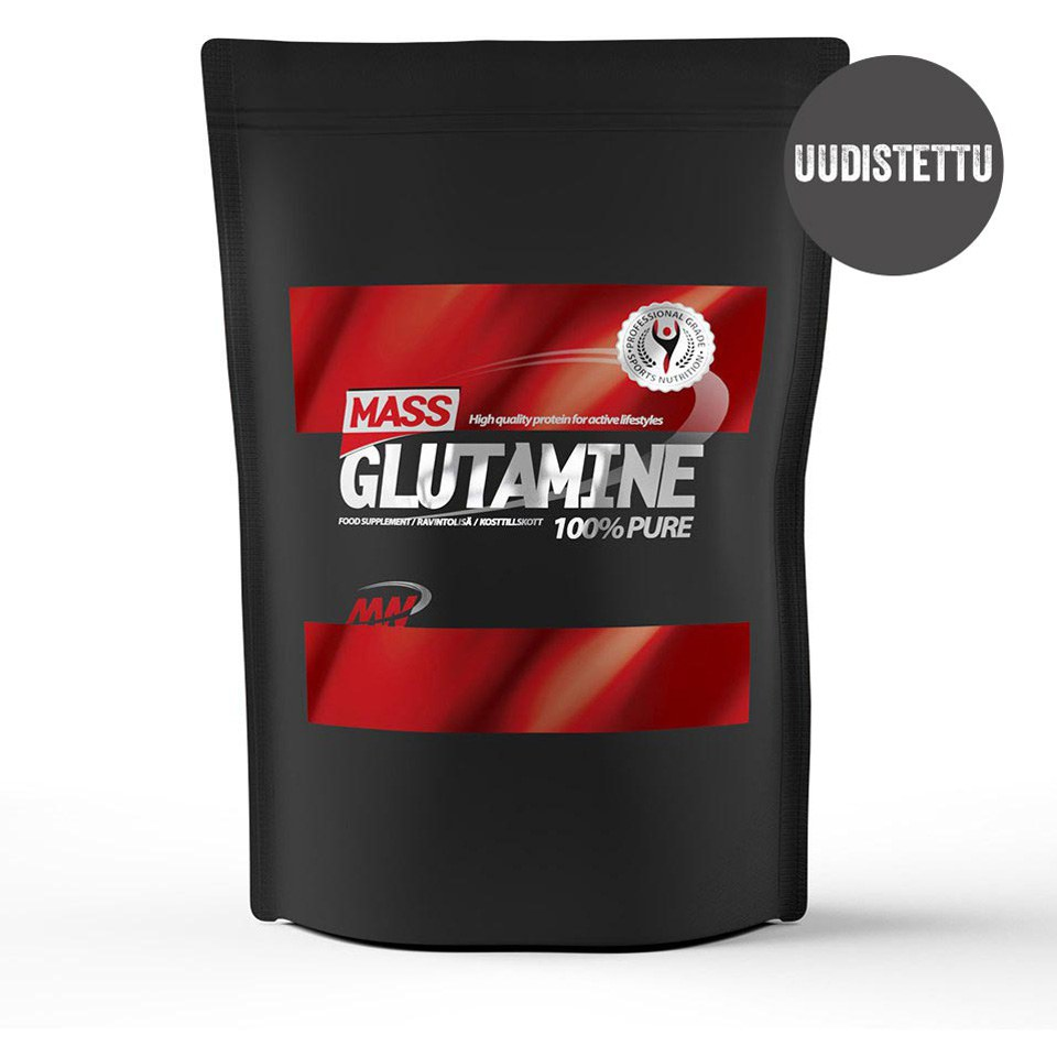 Mass Glutamine, Unflavoured, 1kg
