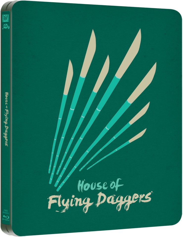 The House of Flying Daggers - Limited Edition Steelbook (UK EDITION)