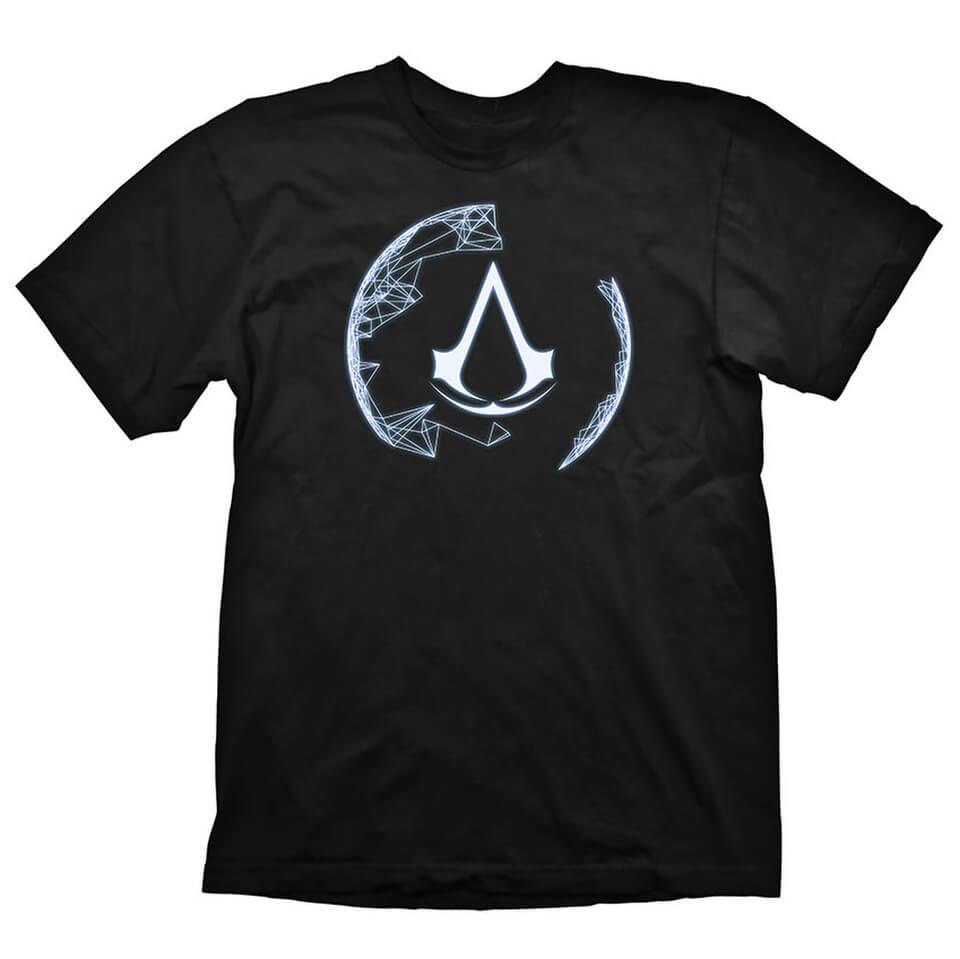 e9b70e20005d Assassin s Creed IV Black Flag Men s Animus Crest T-Shirt - Black  Merchandise