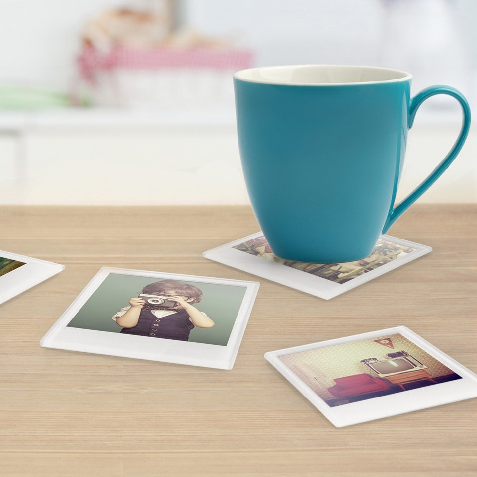 Photo Coasters (Pack of 4)