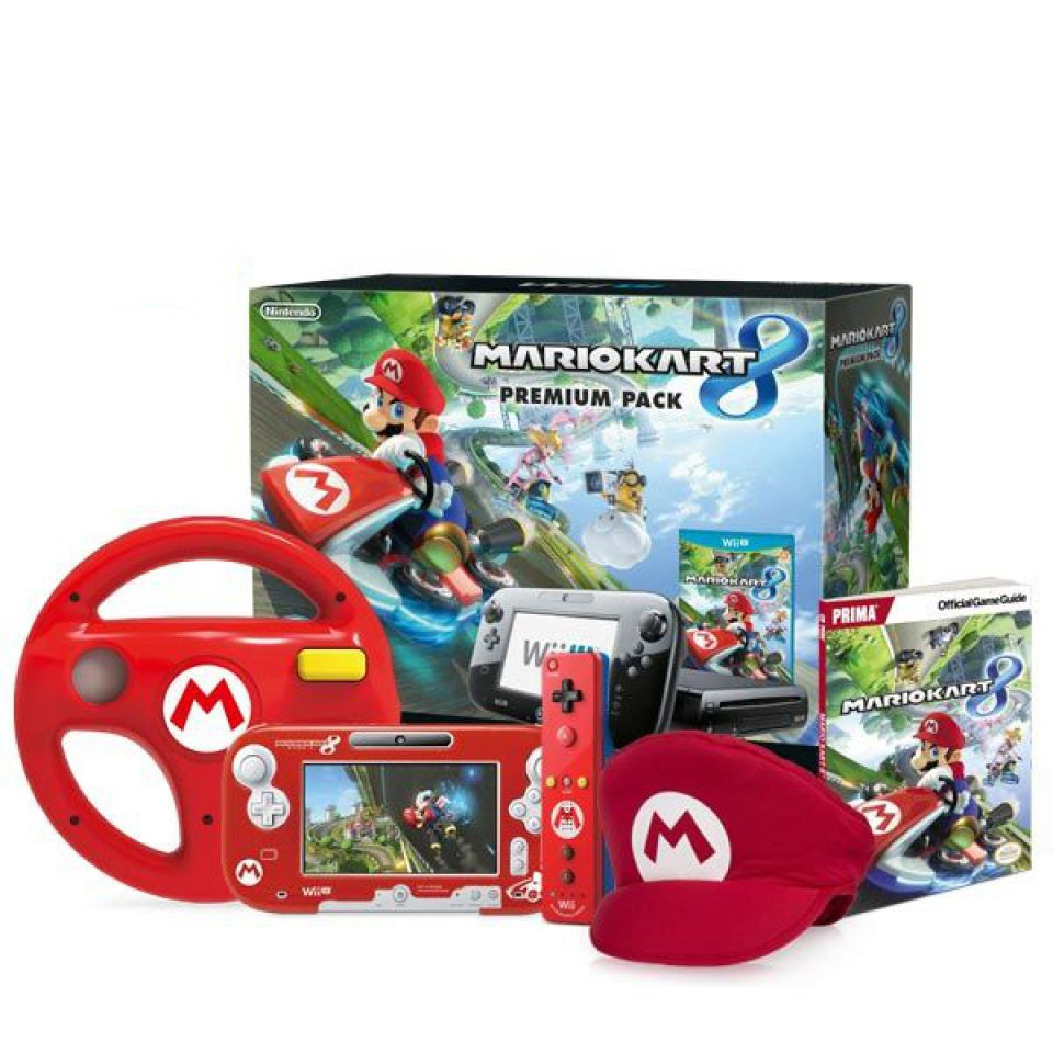mario kart 8 red mario bundle nintendo official uk store. Black Bedroom Furniture Sets. Home Design Ideas