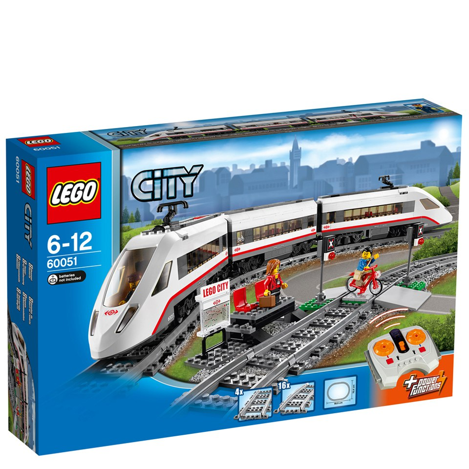 LEGO City: Trains High-speed Passenger Train (60051)