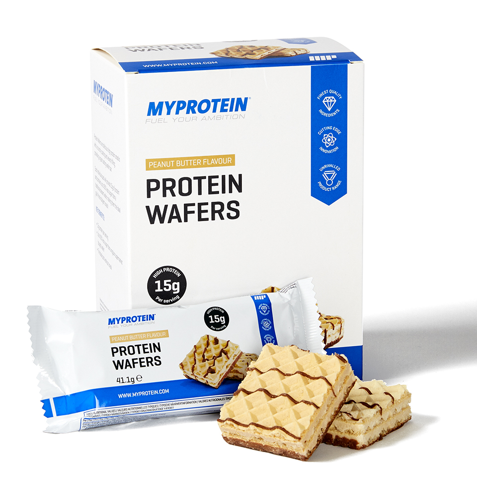 Protein Wafers, Chocolate 10 x 40