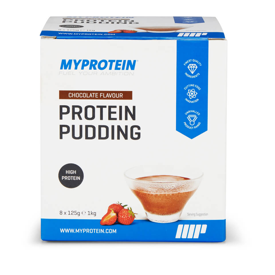 Protein Pudding, Chocolate, 125g x 8