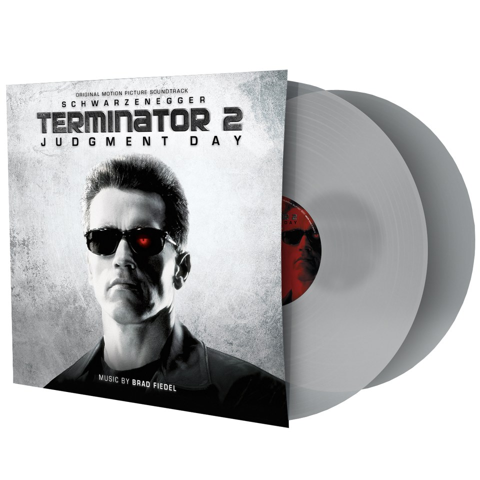 Terminator 2: Judgement Day: OST (2LP) - Zavvi Exclusive Limited Coloured  Transparent Vinyl (500 Only)