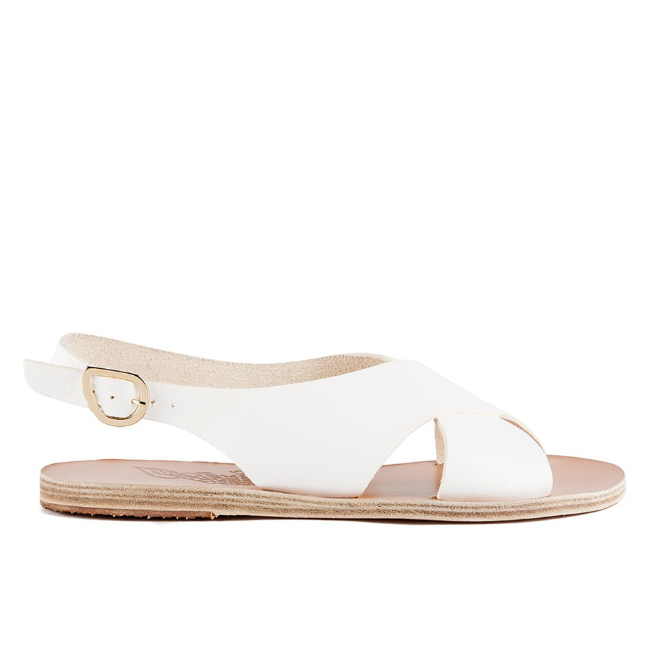 ab9920611 Ancient Greek Sandals Women s Maria Leather Sandals - White - Free UK  Delivery over £50