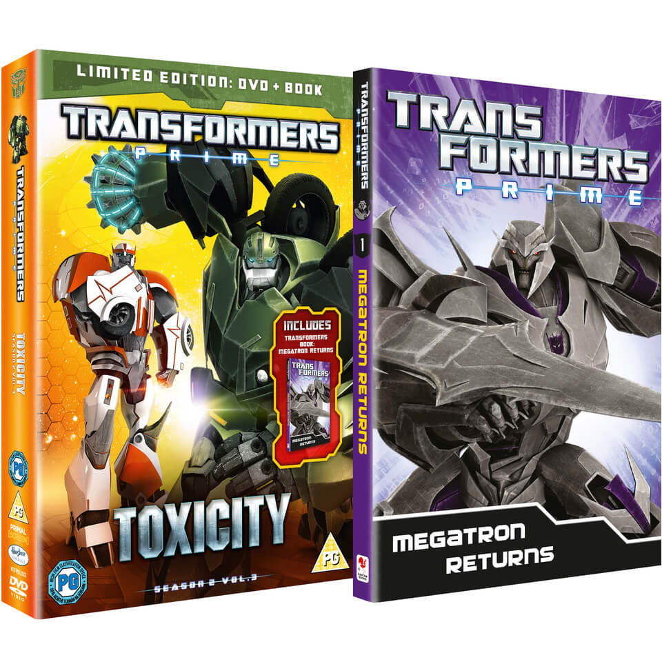 Transformers - Series 2: Volume 3 - Toxicity Limited Edition
