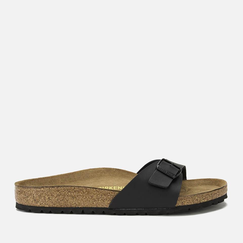 038adf0d834a ... Birkenstock Women's Madrid Slim Fit Single Strap Sandals - Black