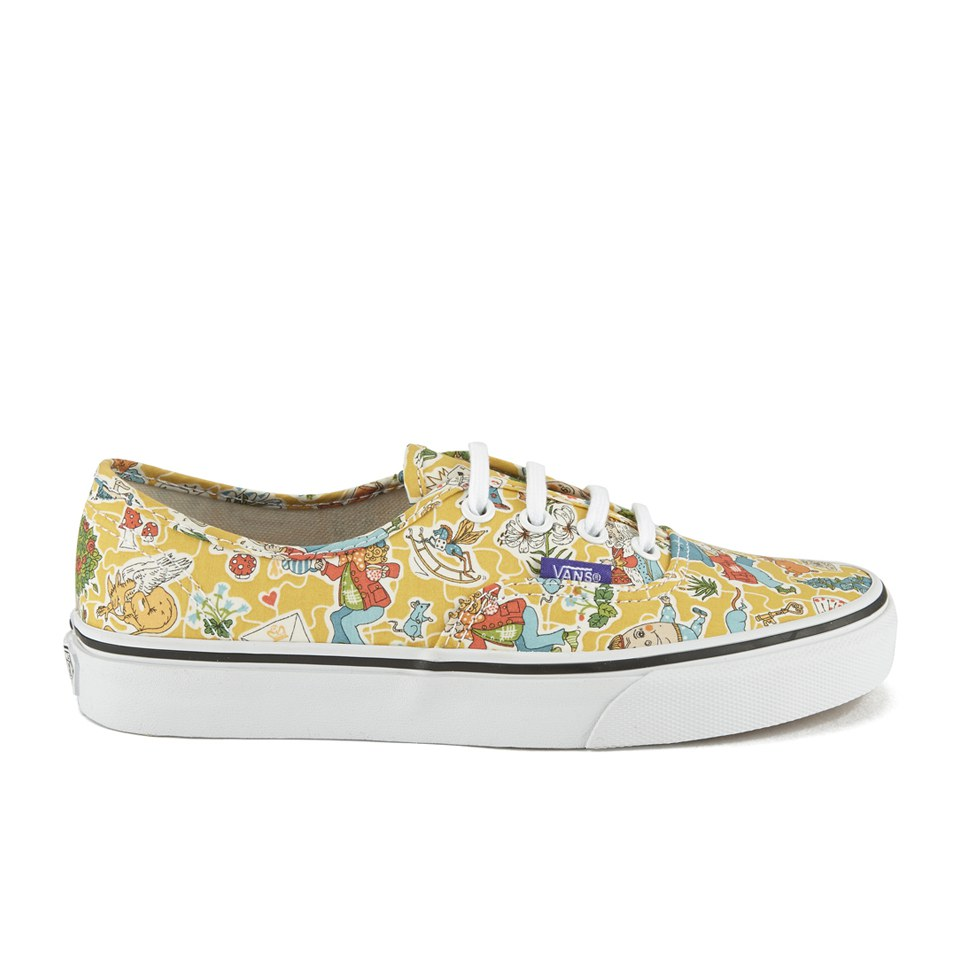 1af66d8f57 Vans Women s Authentic Liberty Trainers - Wonderland True White ...