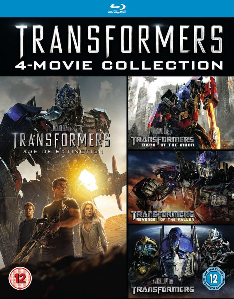 transformers 14 box set bluray zavvi