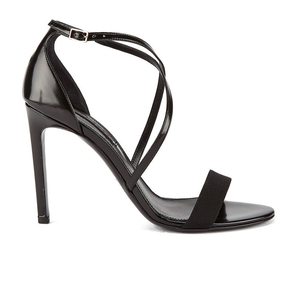406d2bc73a4 ... BOSS Hugo Boss Women s Tahara-A Grosgrain Barely There Heeled Sandals -  Black