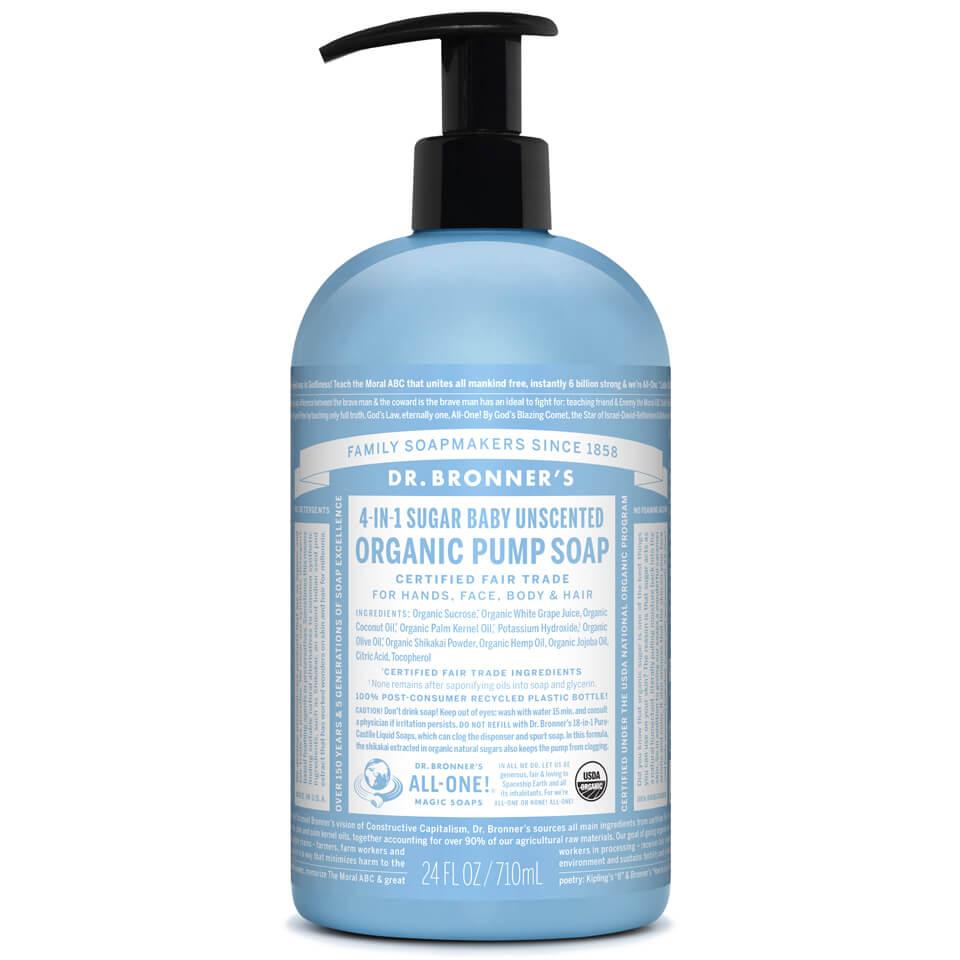 Dr Bronner Organic Shikakai Baby Mild Hand Soap 709ml