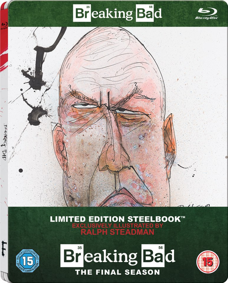 Breaking Bad: The Final Season - Zavvi Exclusive Limited Edition Steelbook (Includes UltraViolet Copy) (UK EDITION)