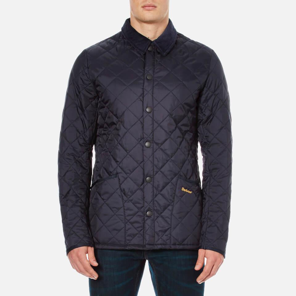 barbour heritage s liddesdale quilt jacket navy