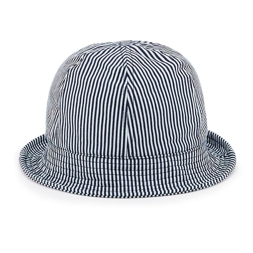 9a2adb1f A.P.C. Women's Sophie Bucket Hat - Duck Blue Stripe - Free UK ...