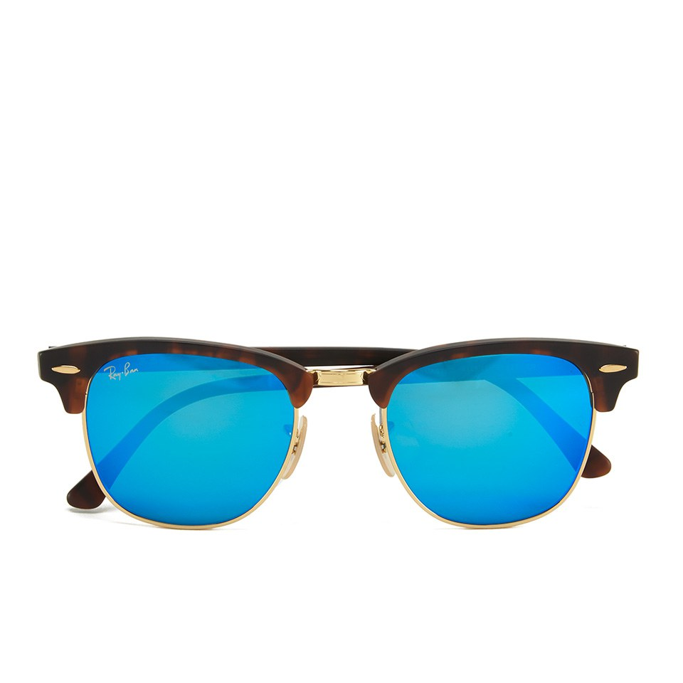 9beb6271b8b Ray-Ban Clubmaster Sunglasses - Sand Havana Gold - 51mm - Free UK Delivery  over £50